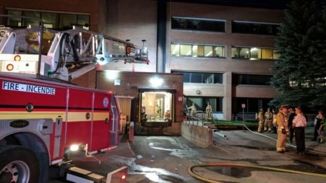 Incendie criminel au Conseil scolaire Ottawa-Carleton