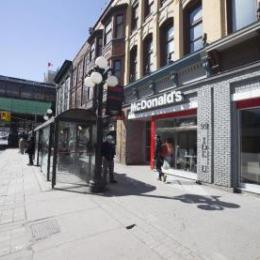 Sécurité accrue au restaurant McDonald dela rue Rideau