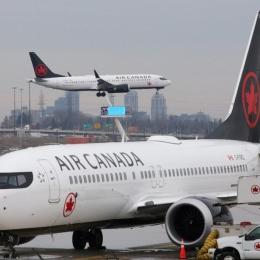Des cas de COVID-19 à bord d'Air Canada