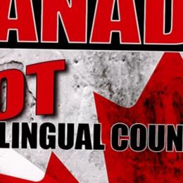 Un groupe contre le bilinguisme milite à Queen's Park.