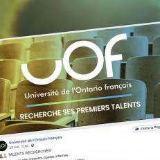 UOF : Les deux paliers de gouvernement signent une entente de financement