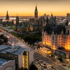 Ottawa une ville plate? NON!