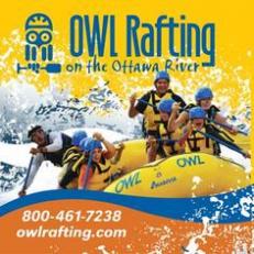 ''Vacances inoubliables en rafting sur la rivière des Outaouais''