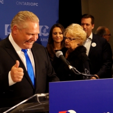 Élection de Doug Ford