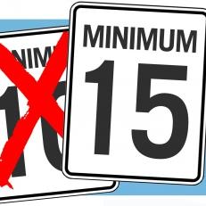 Salaire minimum en Ontario