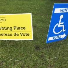 C'est jour d'élection partielle dans Rideau-Rockcliffe