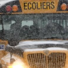 Transport scolaire annulé ce matin