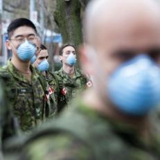 Les militaires quittent les foyers de soins de longue durée en Ontario