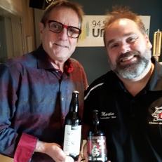 Deux bières artisanales pour Noël