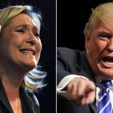 Trump et LePen