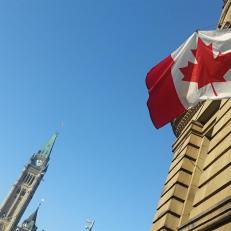 Campagne électorale à Ottawa