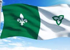 Le drapeau franco-ontarien deviendra un emblème officiel de l