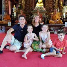 La famille Roussy à Chiang Mai
