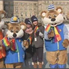 La fierté hivernale a attiré des centaines de personnes sur la colline du Parlement
