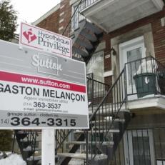 Les ventes de maison augmentent au pays