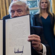 Décret du président Trump (prise 2)