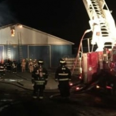 Incendie majeur à St-Isidore