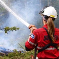 Nos pompiers en Australie