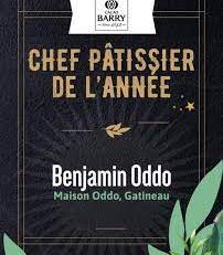 Benjamin Oddo, élu meilleur pâtissier