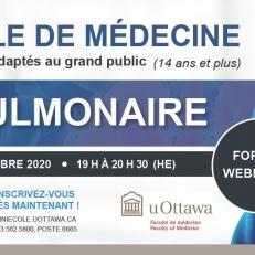 La Miniécole de médecine vous parle de la santé pulmonaire