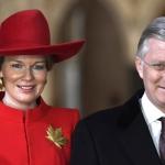 Wynne accueille le roi et la reine des Belges
