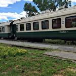 Le train à vapeur reste