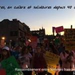 La marche la rue, la nuit, les femmes sans peur 2018 aura lieu ce soir