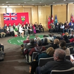 Résumé du passage à Ottawa de Kathleen Wynne